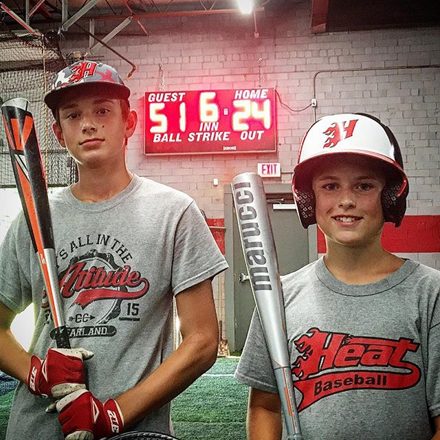 With possibly the last week of Heat hitting league play before brackets are made for the final week, team Ford Studs set a game high score record with 51 points . #heathittingleague #heatbaseballnc #thenextlevel #buildingathletes #hitting #baseball