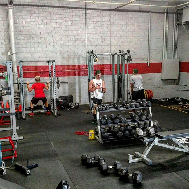 """Who is putting in work today? #buildingathletes #baseball #heatbaseballnc #progress #baseballworkouts #thenextlevel """"I hated every minute of training, but I said """" Don't quit. Suffer now and live the rest of your life as a champion"""" -Muhammad Ali"""