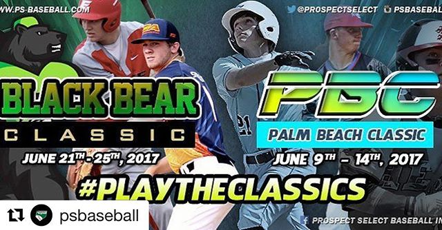 So pumped to be going back to the #BBC #blackbearclassic and the new #PBC #palmbeachclassic next year. Shoutout to @psbaseball for holding some of the best tournaments around👊🏼 #thebestplayhere #heatbaseballnc #buildingathletes #thenextlevel #showcasebaseball