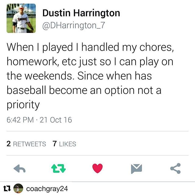#Repost @coachgray24 with @repostapp ・・・ Truth! @dharrington_7  #GREATNESStakesSACRIFICE