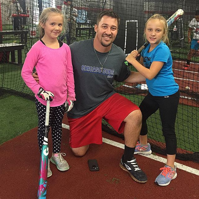 Had a great time working with Gabi and Laney for the first time today. The two of these girls display a love for the game. Look forward to many more successful lessons! #heatbaseballnc #buildingathletes #thenextlevel #softball #hardwork #softballgirls