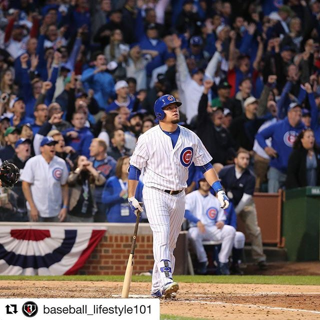 Game 1  Let's go Cubs👊🏼 #Repost @baseball_lifestyle101 with @repostapp ・・・ THE RETURN. 👀 #baseball #cubs #kyleschwarber