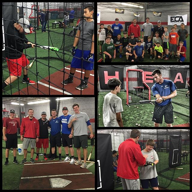We had a great first night of camp with a lot of kids making big jumps. Extremely excited to get after it again tonight. Big thanks to all the amazing guys I tagged in the pictures. #givingback #heatbaseballnc #thenextlevel #buildingathletes #baseball #baseballcamp #coaching