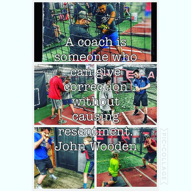 A coach is someone who can give correction without causing resentment. John Wooden  #heatbaseballnc #coach #givingback #buildingathletes #thenextlevel #baseball #teaching #youthbaseball