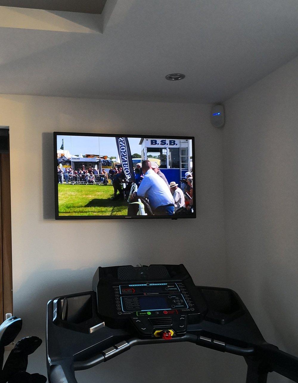Gym TV.