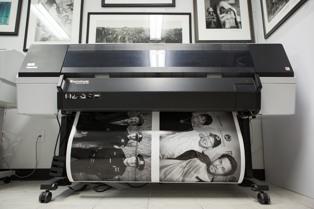 Printing the work of Bill Brett