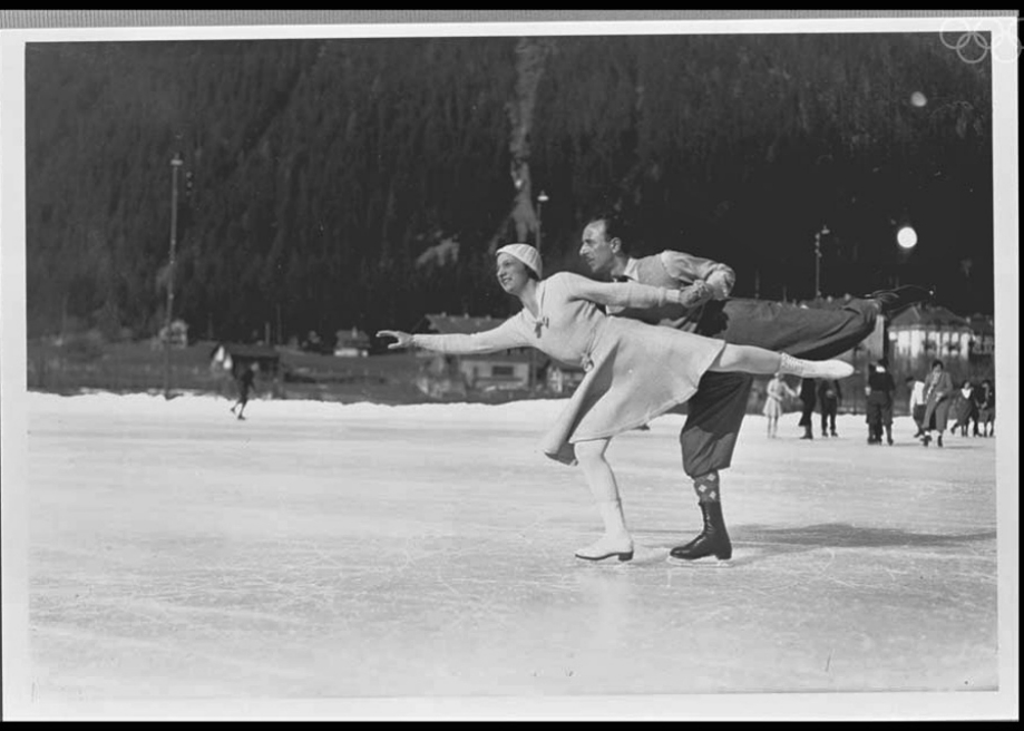 First Winter Olympics 1924 (slate.com-- Photos via Chamonix 1924 Official Olympic Report)