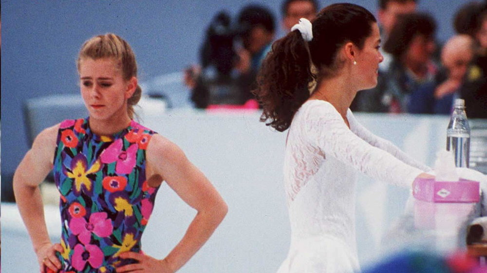 Tonya Harding and Nancy Kerrigan 1998 (Npr.org--Vincent Almavy/AFP/Getty Images )