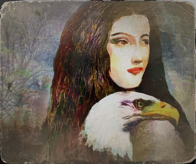 woman_with_eagle