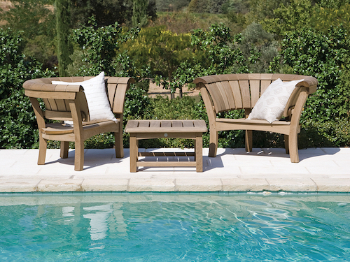 Comfortable, timeless and beautiful, Gaze Burvill sofas and loungers are ideal for relaxing at the poolside, terrace or in the garden.