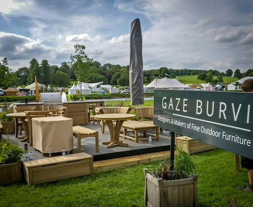 Gaze Burvill's stand at RHS Chatsworth