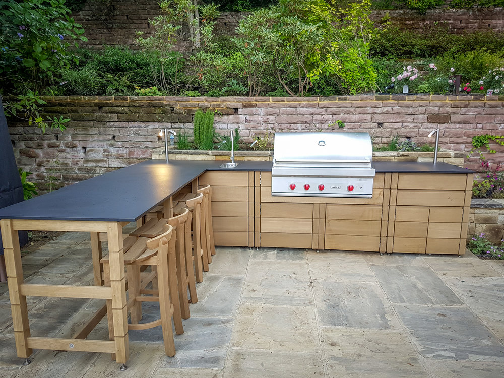 Gaze Burvill Linear Outdoor Kitchen