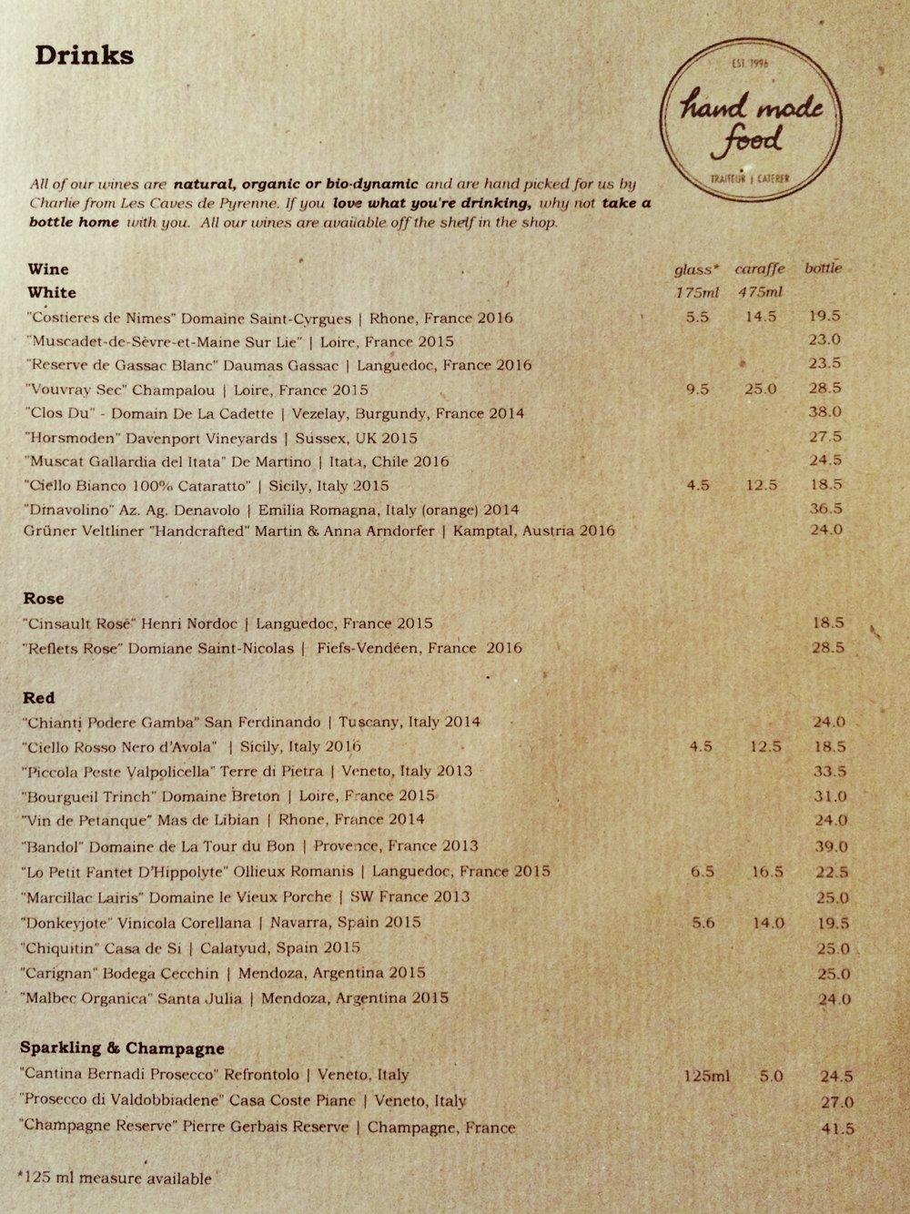 Drinks Menu Restaurant - Oct.JPG