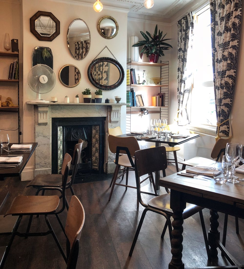 Our first floor dining room