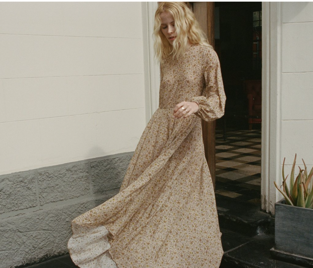 DOEN - Love the dresses here, and, really anything. Buy whatever you want and you'll be golden.