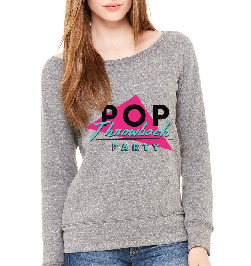 The party logo was printed on sweatshirts and distributed to all the instructors at each gym.