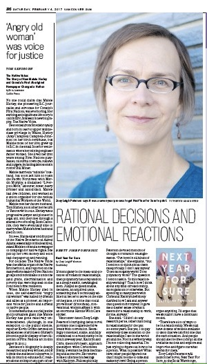 Vancouver Sun , February 4, 2017