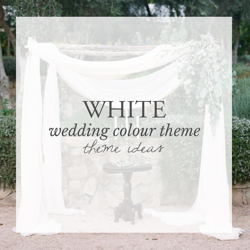 White Wedding Colour Theme Ideas — LILAC & WHITE