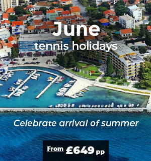 June tennis holidays I Adults