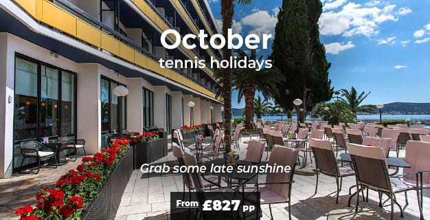 October tennis holidays