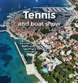 Tennis and boat show