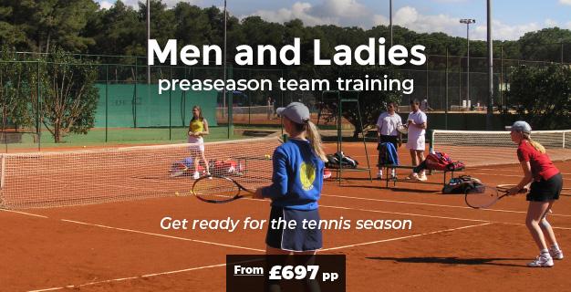Men & Ladies preseason team training