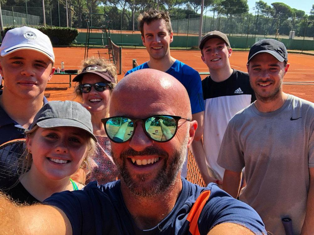 Group Tennis Holidays