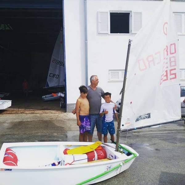 Sailing school for children