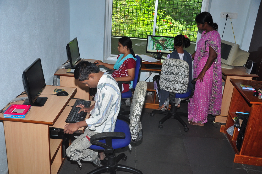 student computer lab