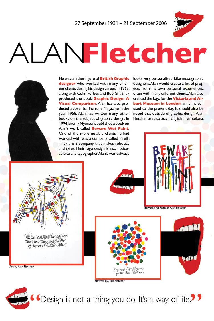 Alan Fletcher Artwork