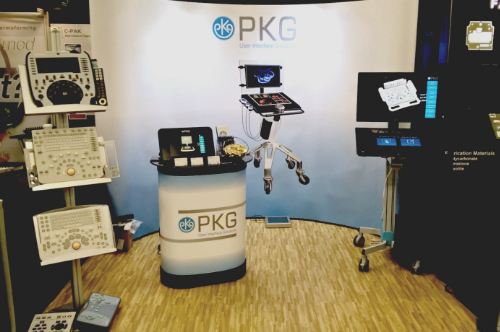 PKG Booth 371 at MD&M West 2016