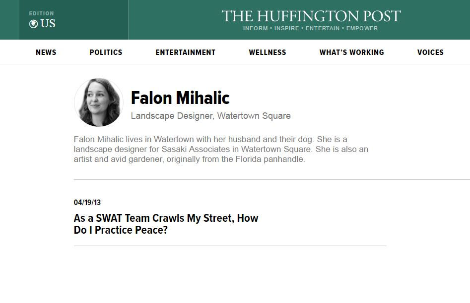 Huffington Post Blog