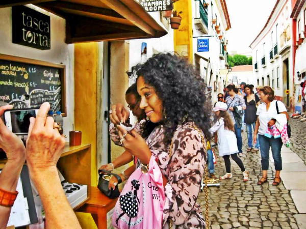 Exploring and wine tasting in Portugal