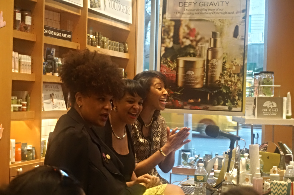 From Left to Right: Julee Wilson, Brandice Daniel and Sybil Amuti