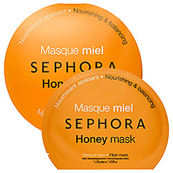 These masks from Sephora are AMAZING! They leave my skin feeling super hydrated and soft and they're only $6!