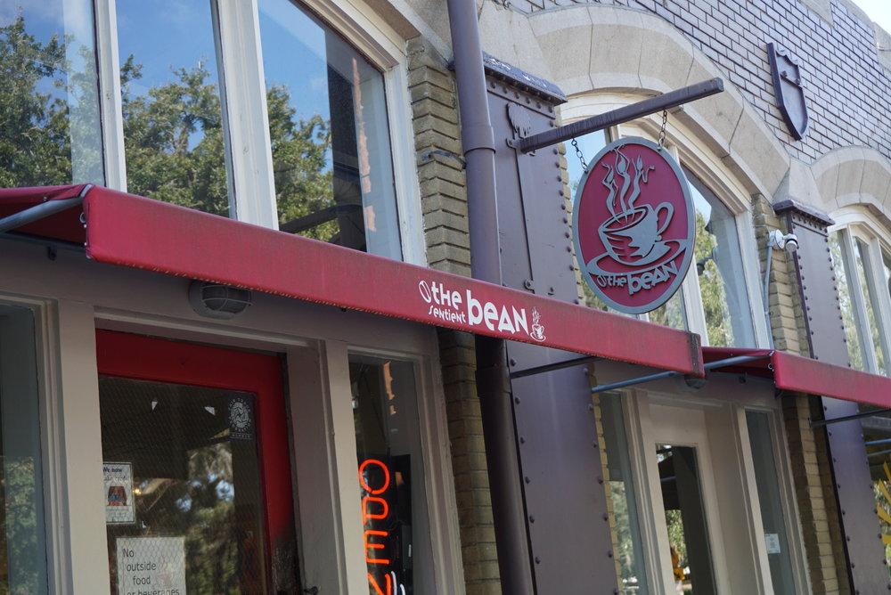 Such a cute coffee shop & vegan restaurant!