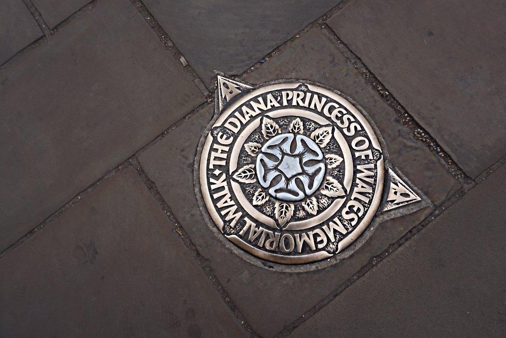 The Diana - Princess of Wales Memorial Walk