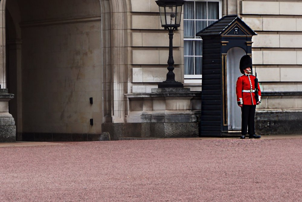 Guard at Buckingham Palace