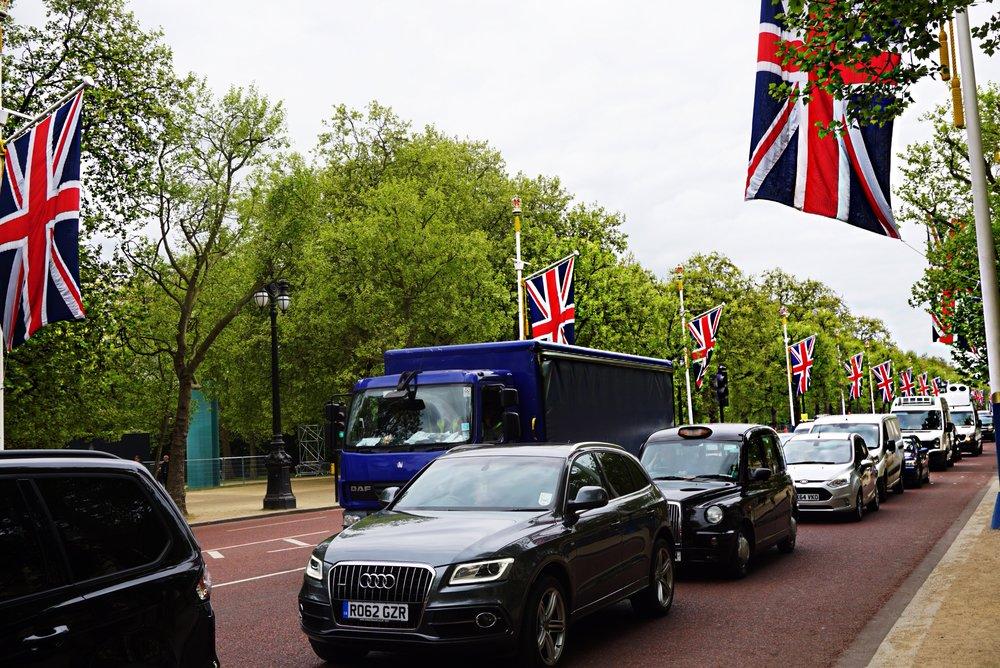 The walk from Buckingham Palace