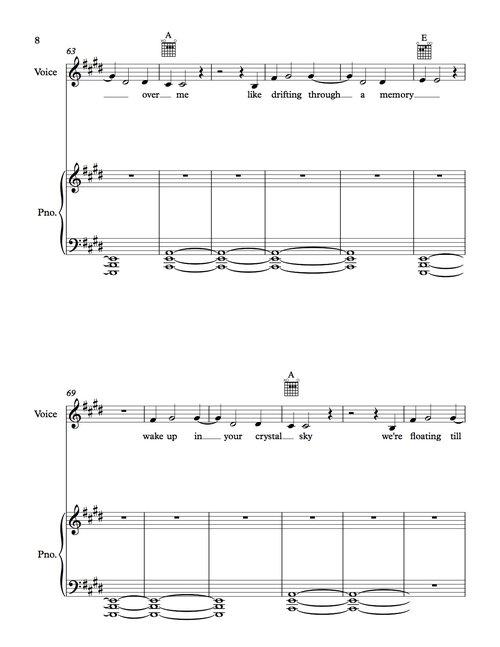 Starlight Sheet Music The Official Website For Jai Wolf