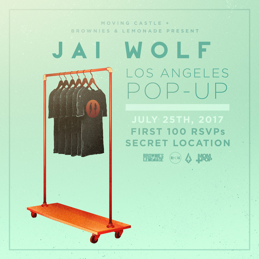 Jai Wolf LA Pop Up