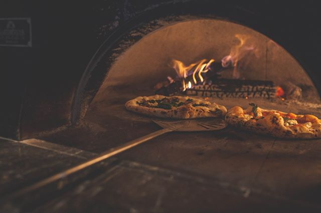 Come on in out of the rain and hang by the fire with us!  #bufadpizza #phillypizza #phillyeats