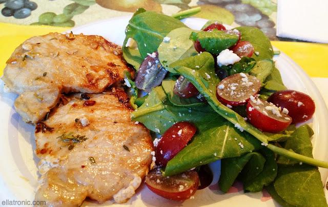 grilled pork salad ellatronic