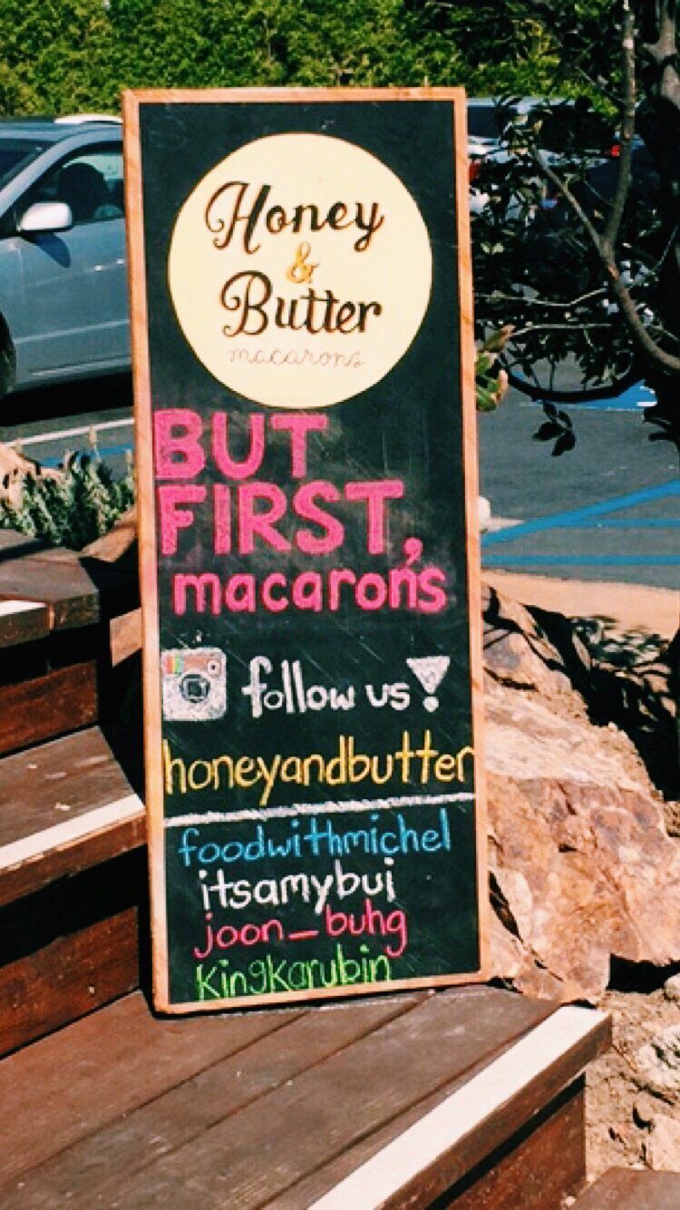 Honey & Butter Sign