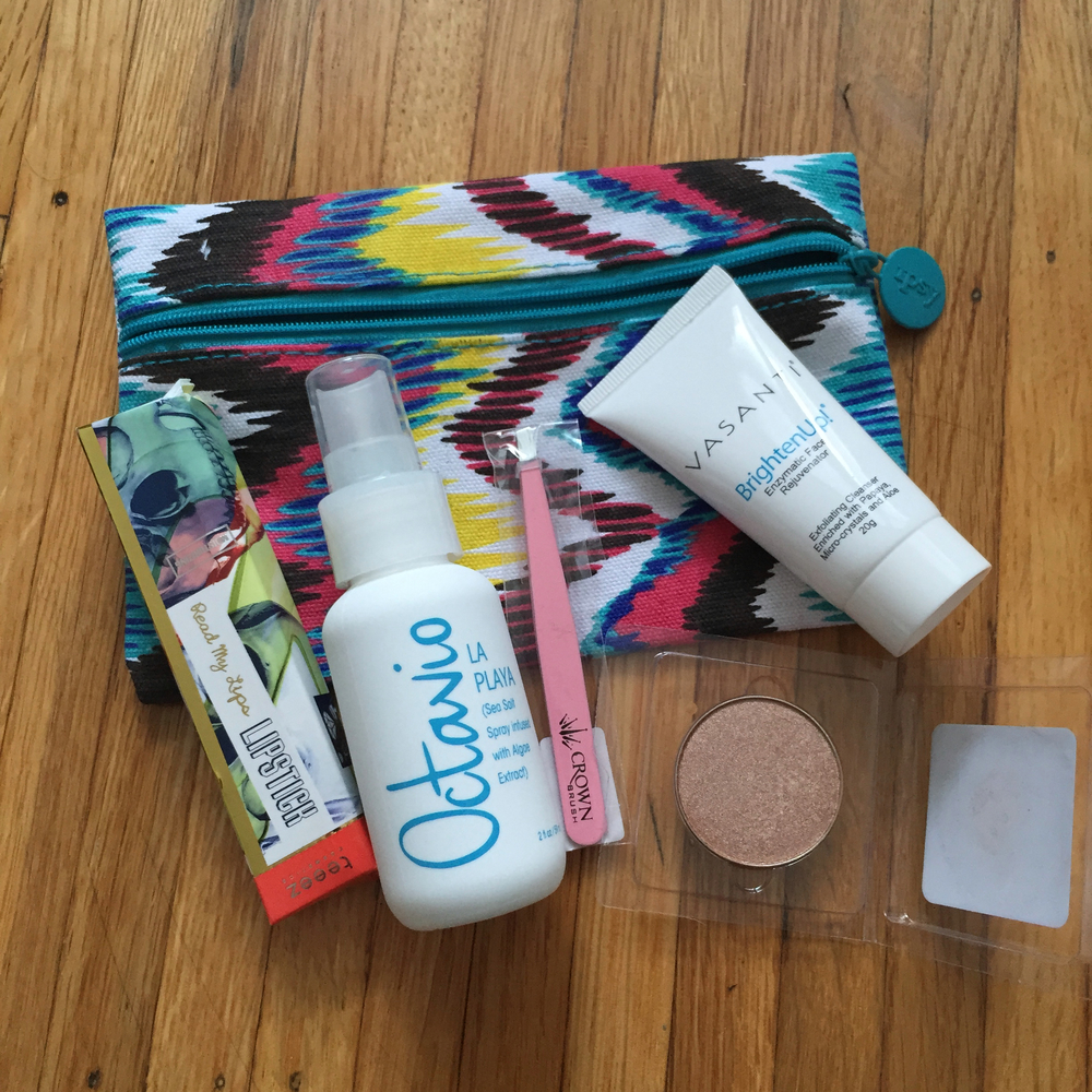 Ipsy July 2015 Glam Bag