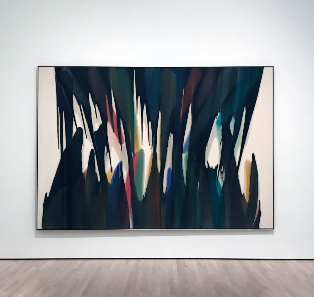 Ambi I by Morris Louis (1959-60)