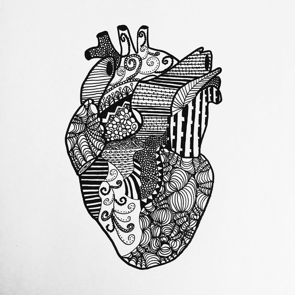 Patterned Anatomical Heart Ellatronic