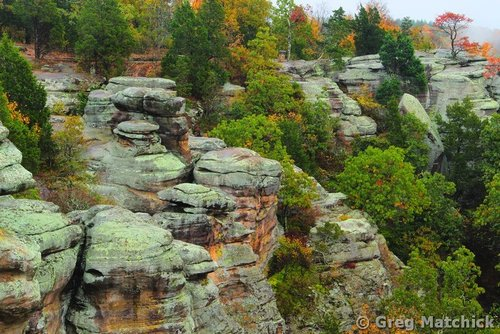 Photographs of Garden of the Gods in Shawnee National Forest ...