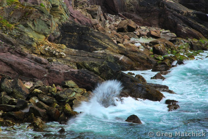 Crashing Waves at Dunquin Harbor