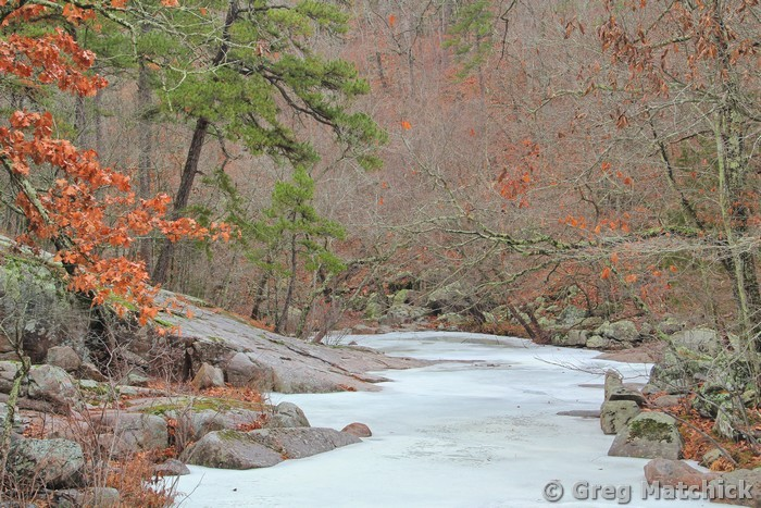 Frozen Pickle Creek 5